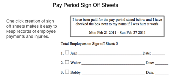 paycheck sign out sheet template zaxa tk